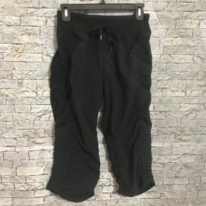 Zella Scrunch Side Workout BlK Athletic Pants Sz 4